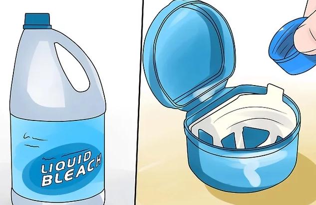استفاده از سفید کننده