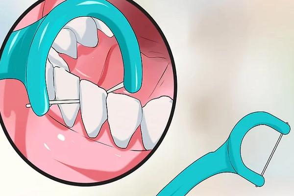 نخ دندان دستهدار