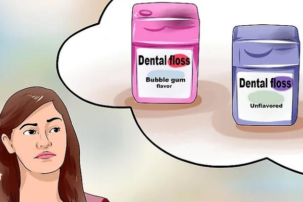 نخ دندان طعم دار یا بدون طعم